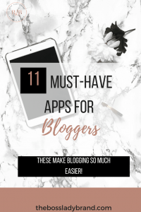 If you are a new blogger, these are the best blogging apps to help keep you organized! These 11 new blogger apps have helped me stay focused and have just helped make my life easier. Are you ready to use these life-changing apps?