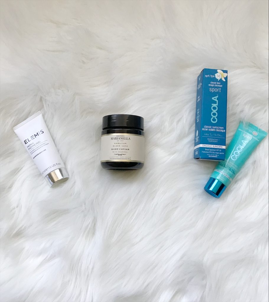 Skincare Products from Fab Fit Fun
