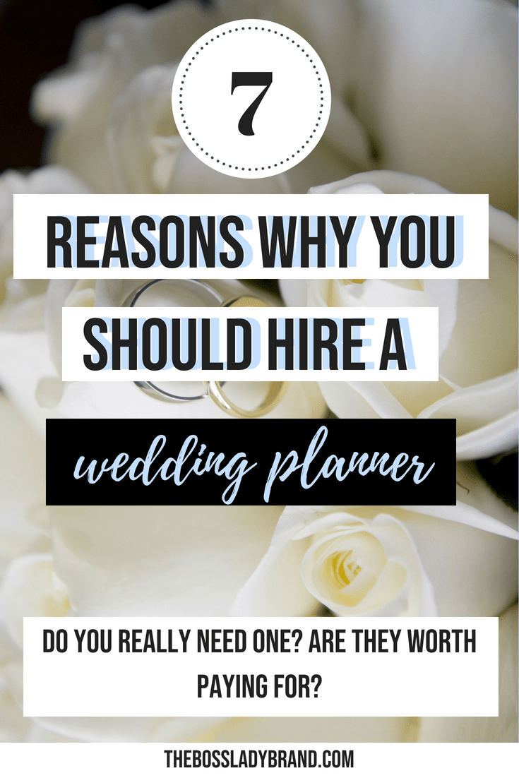 Do I need a Wedding Planner? I'm sharing 7 Good reasons to hire a wedding planner and how it will save you time, money and stress! Read more! #weddingtips #weddingplanning #weddingdresses #weddingrings