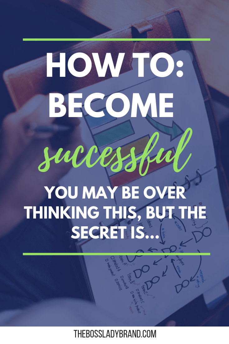 Everyone wants to know how to become successful. The difference between people who succeed and who don't is really simple. Show up for yourself! So often, people expect success to happen overnight and give up on showing up consistently. #howtostartablog #blogging101 #bloggingbasics #bloggingtips #success
