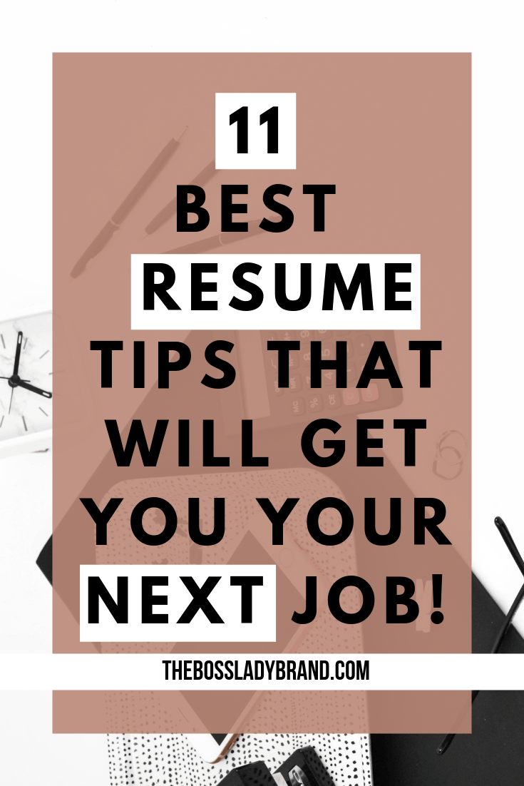 This everything you need to know to become a resume pro and land your next job! These are the best resume tips to take you to the next level! #resumetips #careeradvice #howtowritearesume
